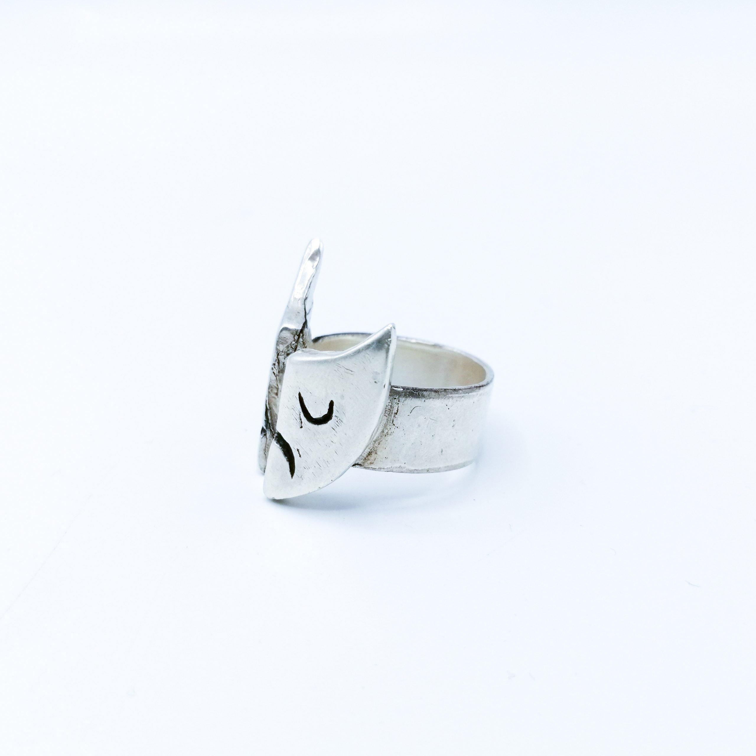 Gemini Ring - Silver